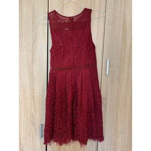 Francesca's Collections Dresses - Red dress